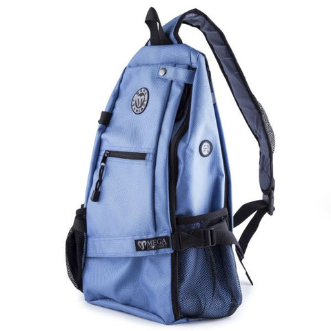 Crossbody Sling Yoga Backpack-Blue-Daily Steals