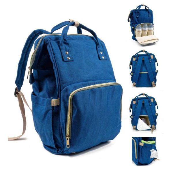 Diaper Bag Backpack- 9 Colors-Navy-Daily Steals