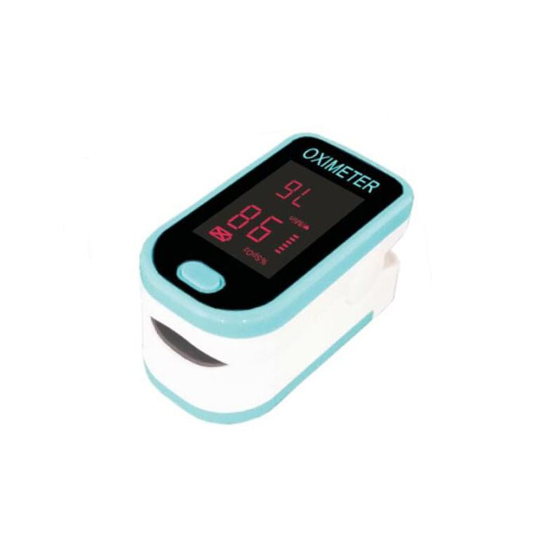Finger Pulse Oximeter with LED Display-Blue-Daily Steals
