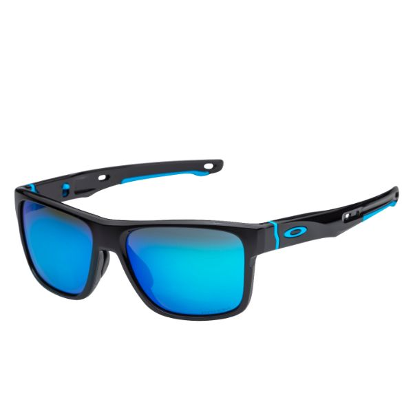 Oakley Crossrange Sunglasses Black Prizm Sapphire Iridium OO9361-13 9361-13-Daily Steals