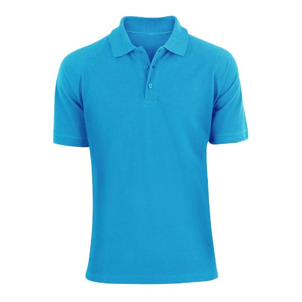 Men's Fashion Classic Fit Cotton Polo Shirt - Multiple Colors-Blue-L-Daily Steals