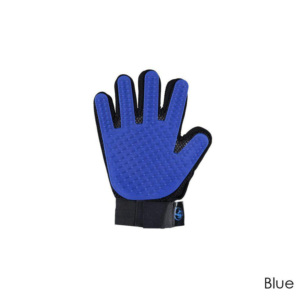 Ez-Pet Grooming Glove (1-Pair)-Blue-Daily Steals