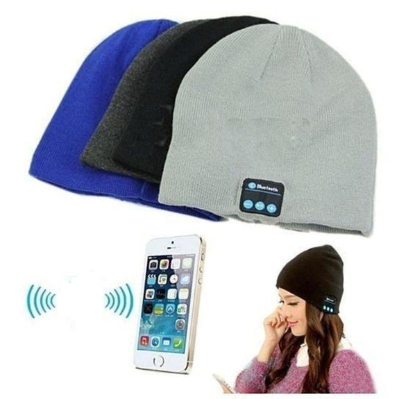 Bluetooth Winter Beanie - 3 Pack-Daily Steals