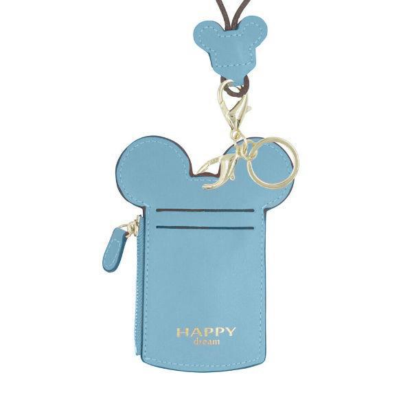 Theme Park Ticket Holder and ID Card Necklace - 6 Colors-Blue-Daily Steals