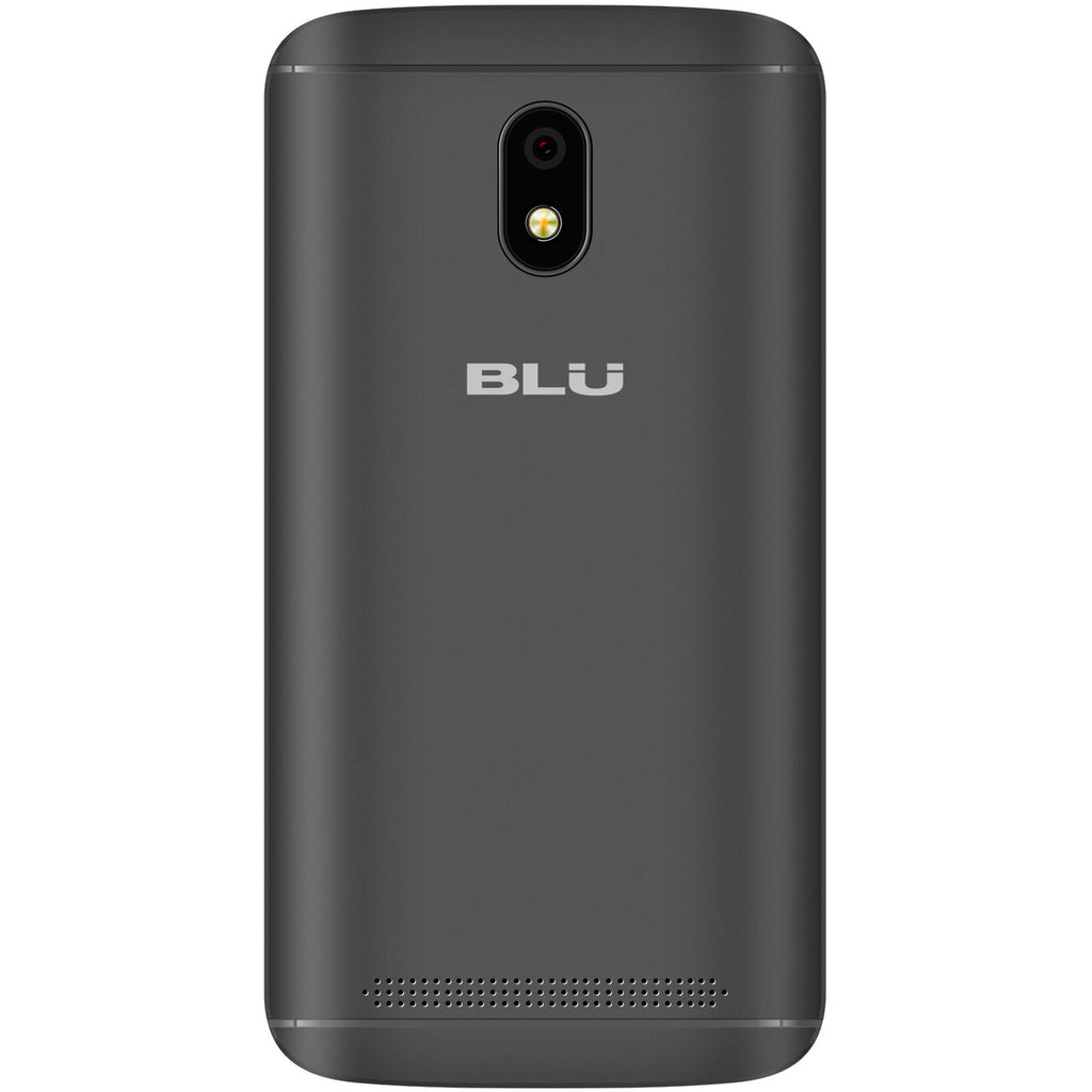 BLU C4 3G Unlocked GSM Dual-SIM w/ 5MP Front and Rear Camera's - Black-Daily Steals