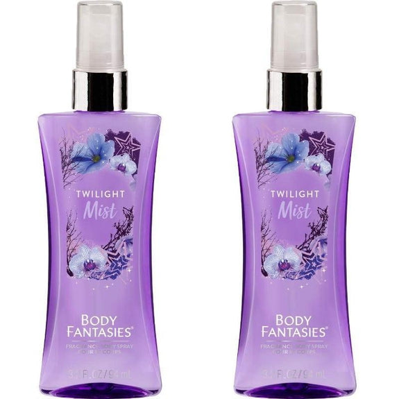 Body Fantasies Signature Twilight Mist Body Spray, 3.2 fl oz - 3 Pack-