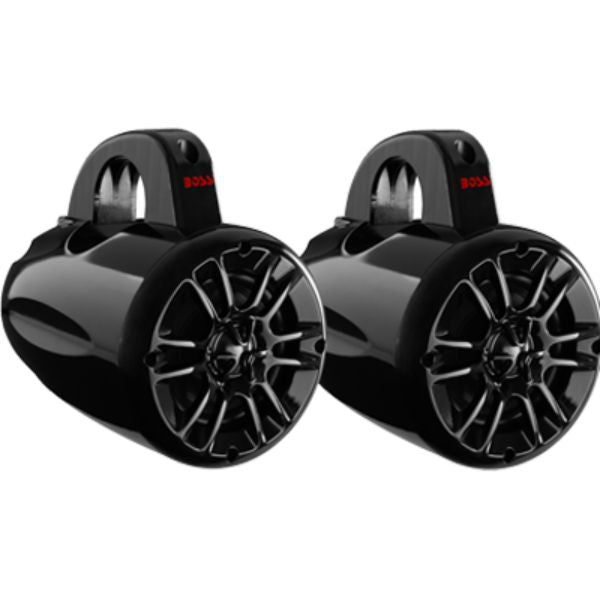 "Tower Speakers, 4"" 2-Way, 400W, Black By Boss Audio-Daily Steals"