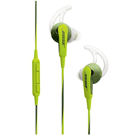 Bose SoundSport In-Ear Headphones with TriPort Audio Technology and Remote Control-Energy Green - Apple Devices-Daily Steals