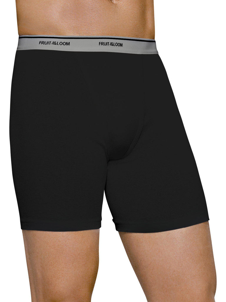 update alt-text with template Daily Steals-[3-Pack] Men's Fruit Of The Loom Dual Defense Boxer Briefs-Men's Apparel-Large-