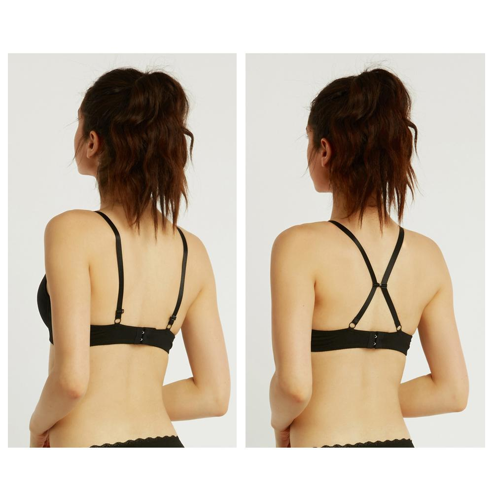 [6-Pack] Unibasic Women Plain and Lace Full Cup Bra-Daily Steals