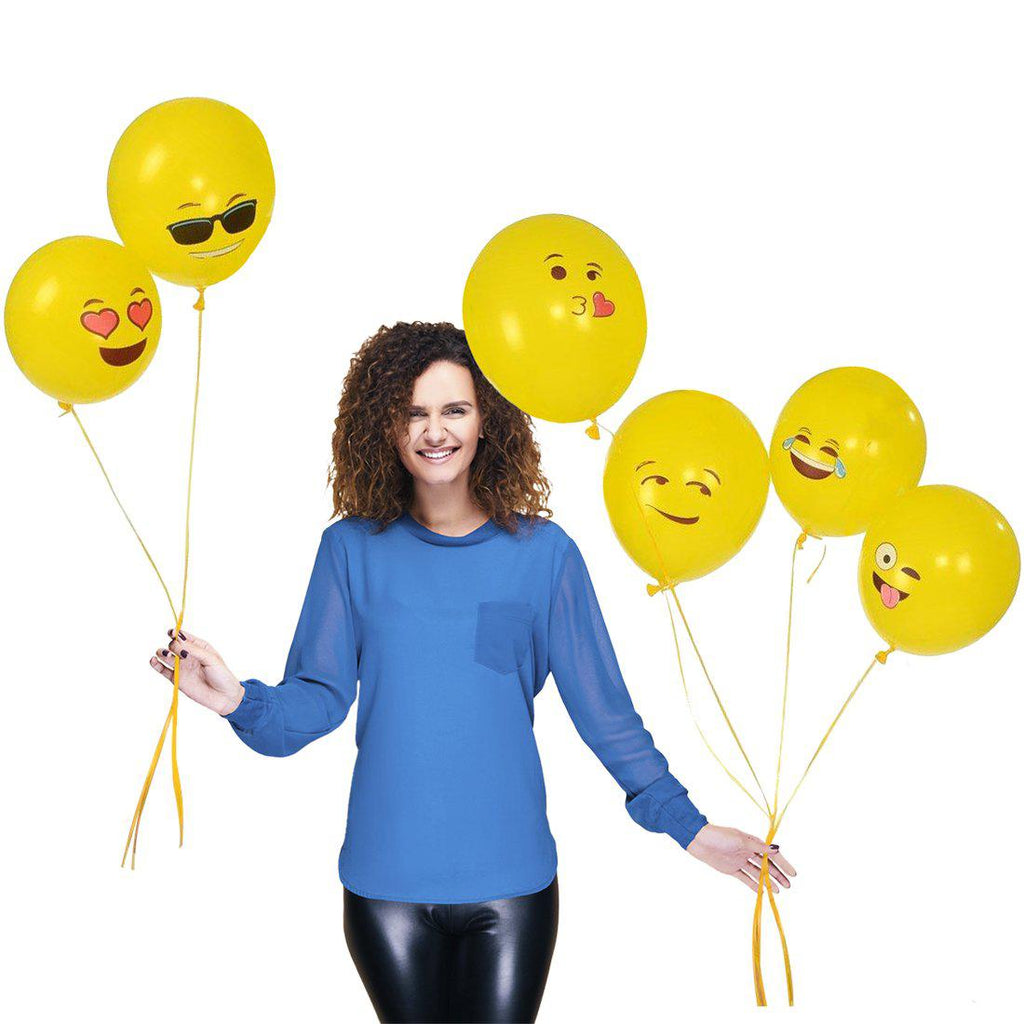 Premium Emoji Party Balloons-Daily Steals