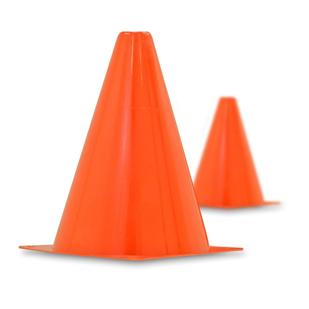 [6-Pack] The Ultimate 7-inch Orange Traffic Cones-Daily Steals