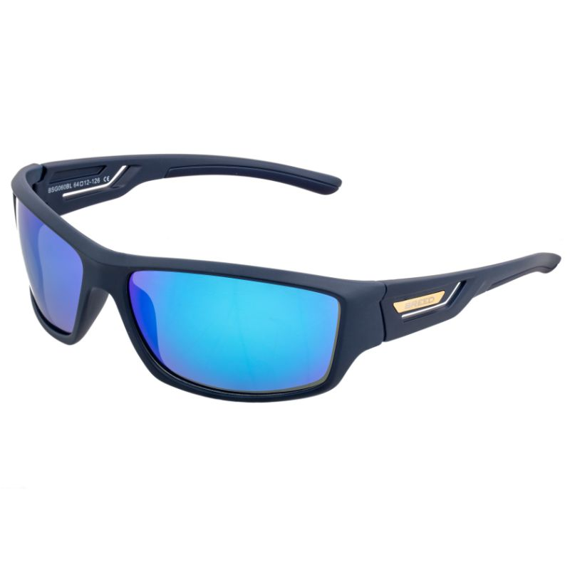 Breed Aquarius Polarized Sunglasses-Navy/Blue-Daily Steals