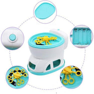 "Bubble Blower Blaster Toilet with Bubble Solutions, 6.75""-"