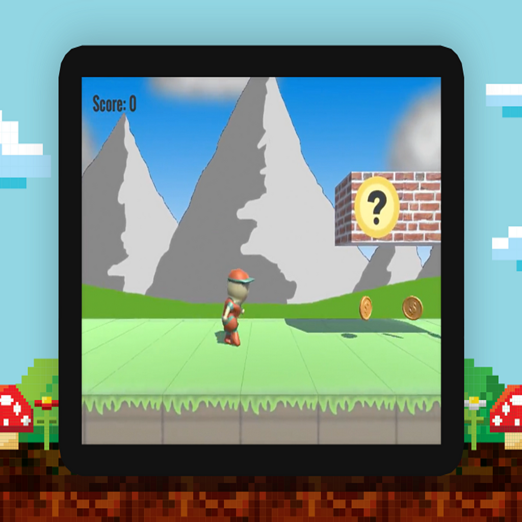 Build and model a Super MARLO runner clone in Unity3D-