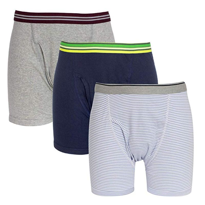 Mens Boxer Briefs 100% Cotton - 8 Pack-M-Daily Steals