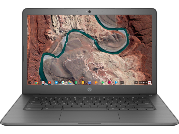 "Daily Steals-HP 14"" Chromebook with 1.1GHz Intel Celeron N3350 Dual-Core Processor, 4GB RAM, and 16GB Storage-Laptops-"