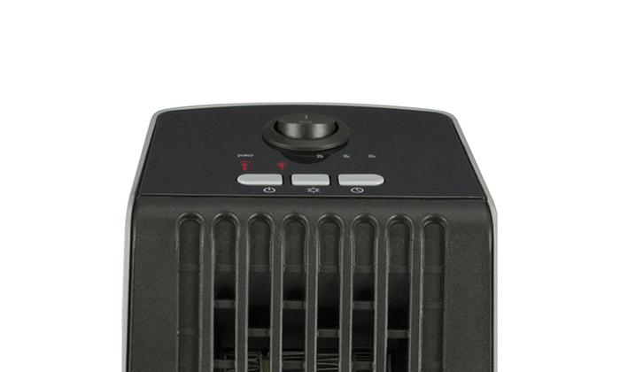 Life Smart Desktop Personal Heater & Fan - 4 Color Choices-Daily Steals