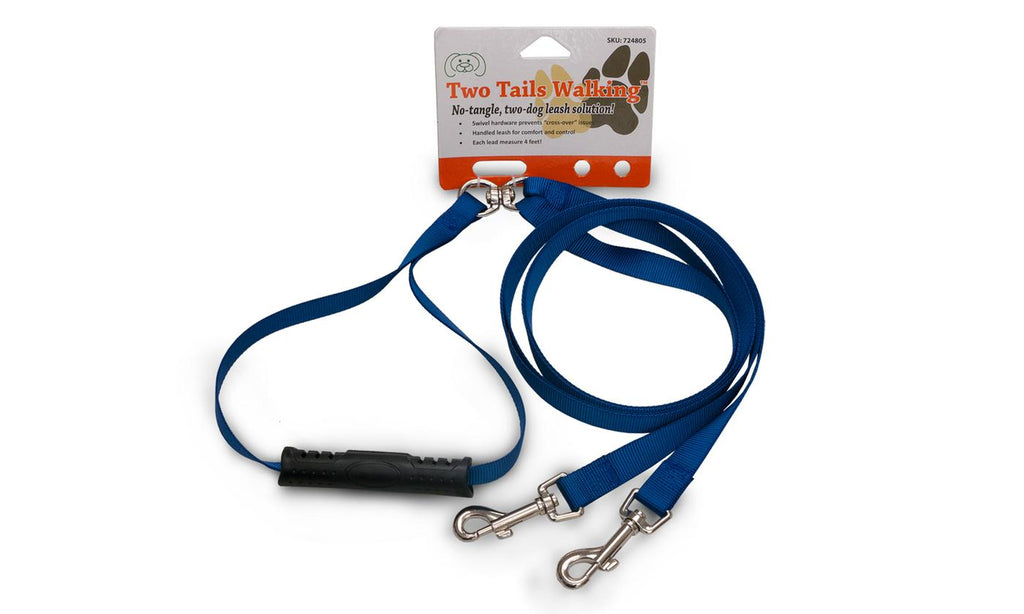 Furhaven No Tangle Two Dog Pet Leash-Daily Steals