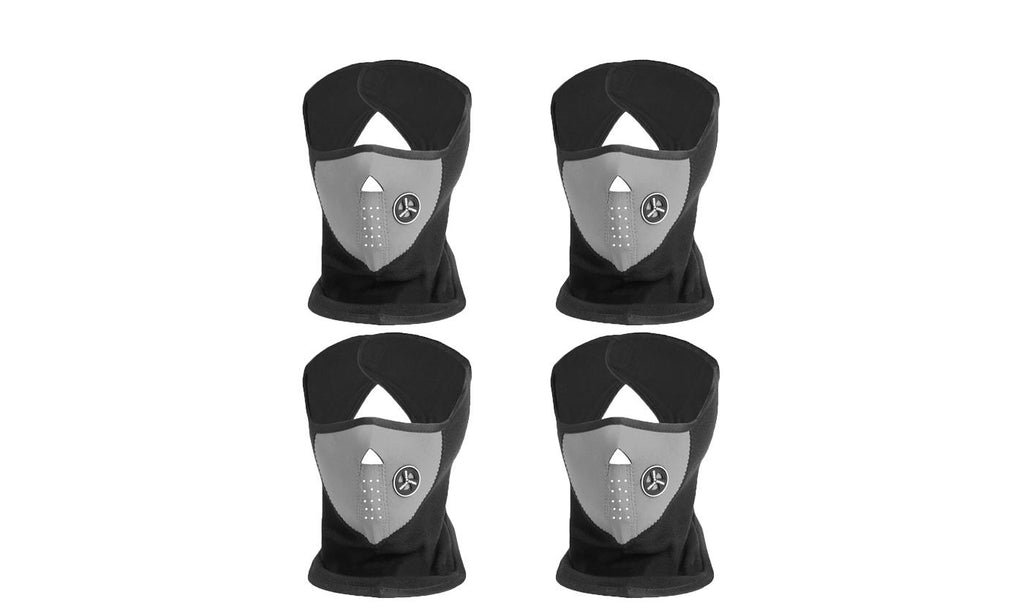 Unisex Winter Ski Mask (4-Pack)-Grey-Daily Steals
