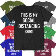 """This Is My Social Distancing Shirt"" T-Shirt-Daily Steals"