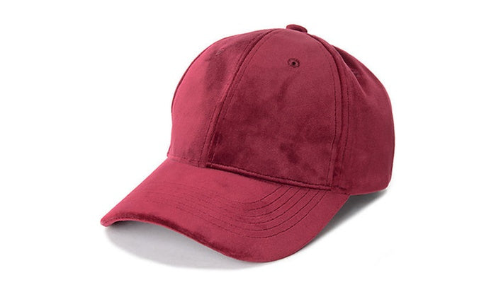 Baseball Adjustable Cap - Unisex-Burgundy-Daily Steals