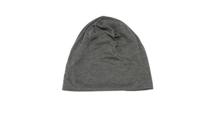Unisex Plain Long Slouch Beanie - 4 Color Options-Grey-Daily Steals