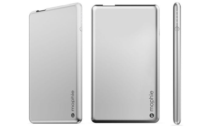 [1 or 2 Pack] Mophie Aluminum Powerstation 4,000 - Aluminum-1 pack-Daily Steals