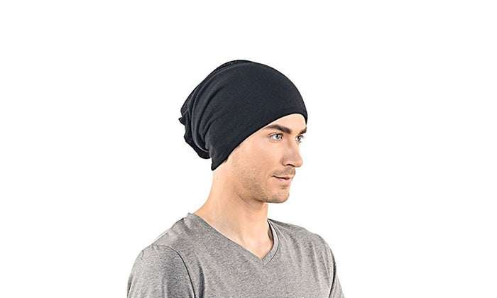 Unisex Plain Long Slouch Beanie - 4 Color Options-Daily Steals