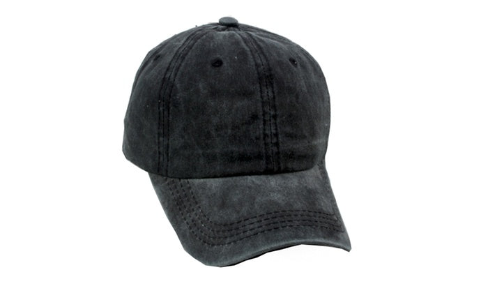 Baseball Adjustable Cap - Unisex-Black-Daily Steals