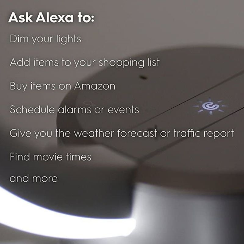 C av GE Sol Smart lampa med Amazon Alexa Smart Speaker