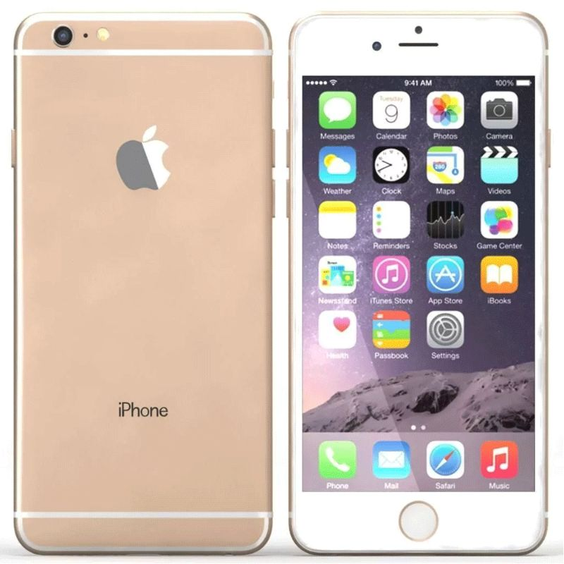 Apple iPhone 6s Plus 128GB GSM & CDMA Unlocked Bundle-Gold-Daily Steals
