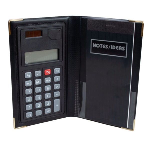 Calculator with Notepad in Protective Case - 3 Pack-Daily Steals