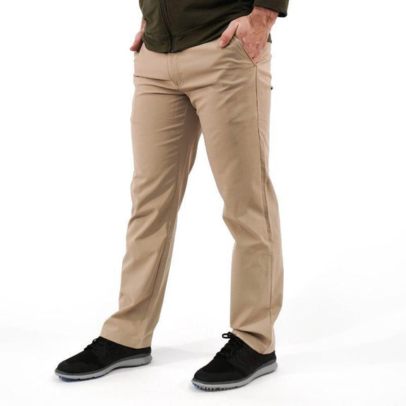 Callaway Men's Opti-Dry Stretch Pants-Khaki-36X30-Daily Steals