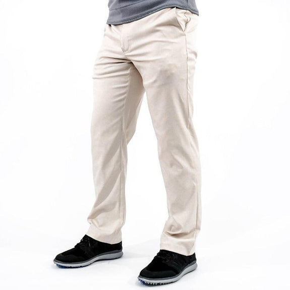 Callaway Men's Opti-Dry Stretch Pants-Light Stone-38X30-Daily Steals