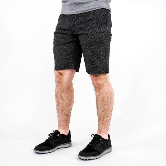 Callaway Men's Opti-Dry Stretch Shorts-Black Print-34-Daily Steals