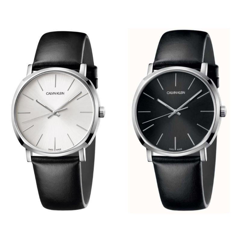 Calvin Klein Men's Posh 40mm Leather Watch-Daily Steals