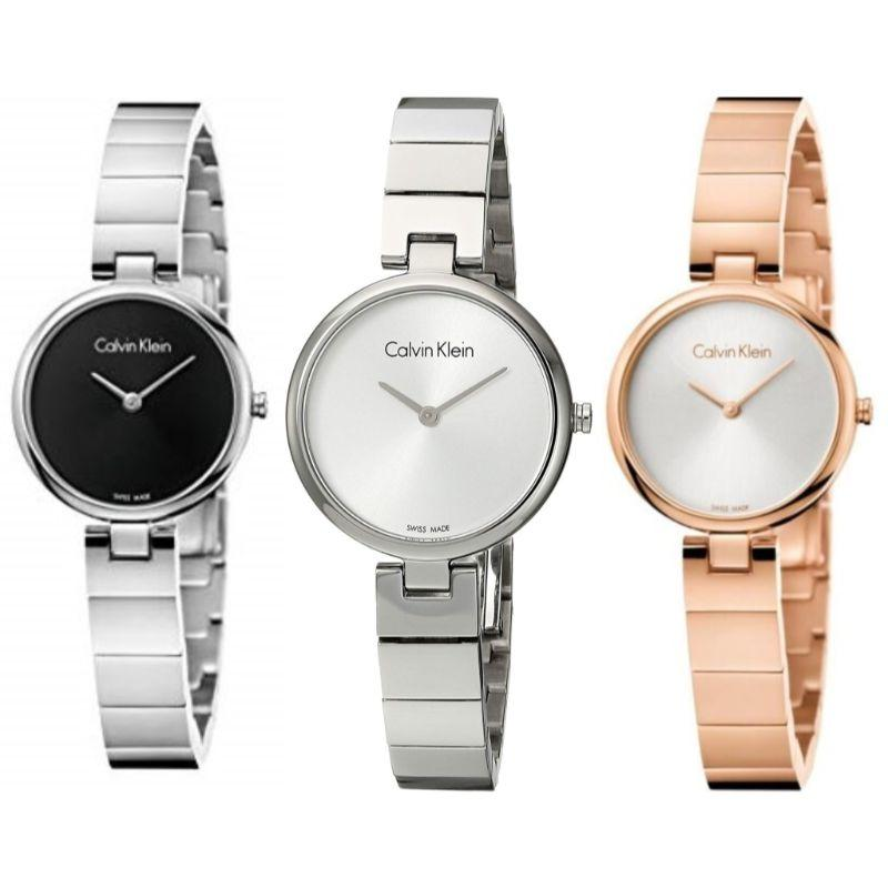 Calvin Klein Women's Authentic 28mm Stainless Steel Watch-Daily Steals