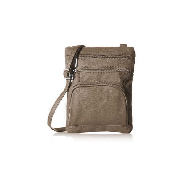 Super Soft Leather Crossbody Bag-Camel-Daily Steals