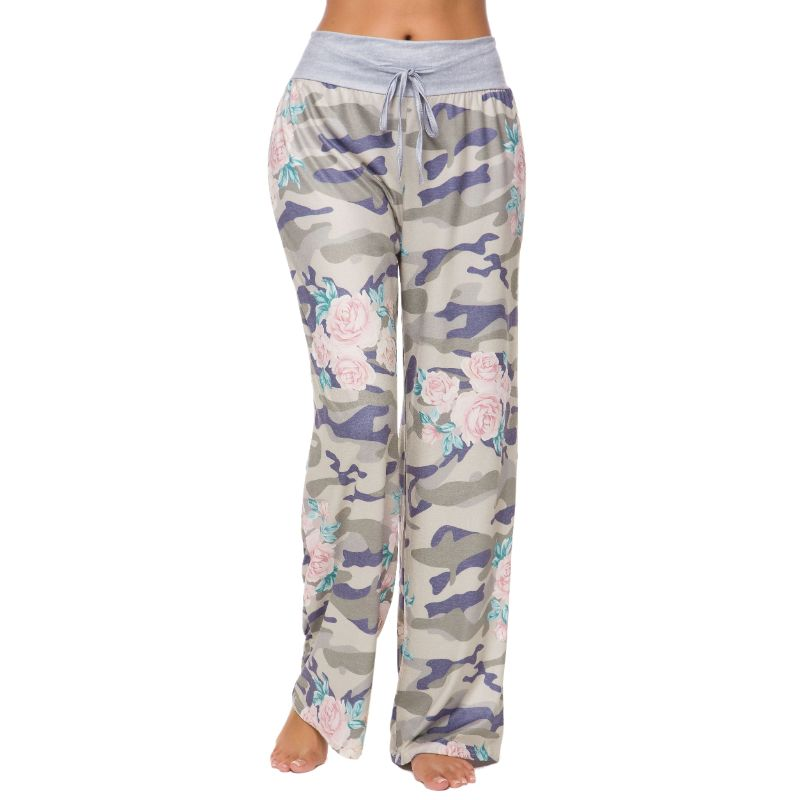 Camouflage and Floral/Camouflage Lounge Pants-Daily Steals