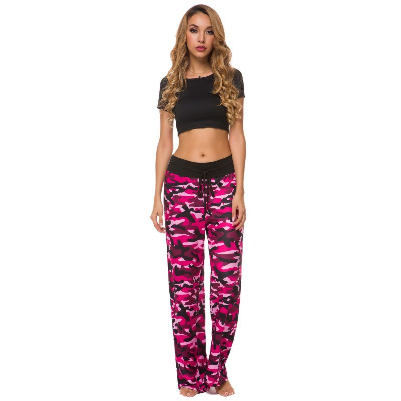 Camouflage and Floral/Camouflage Lounge Pants-Pink-Small-Daily Steals