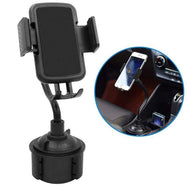 Car Cup Holder Phone Mount Adjustable Gooseneck Phone Stand-