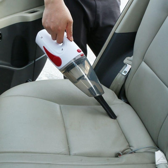 Car Handheld Cyclonic Suction Wet/Dry Auto Vacuum Clean-Black-