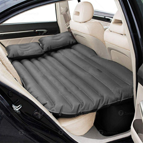 Car Bed Back Seat Inflatable Air Mattress with 2 Air Pillows-Daily Steals