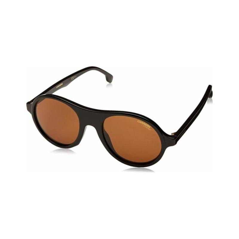 Carrera 142/S 0807 Men's Sunglasses Black Brown-Daily Steals