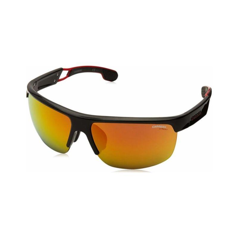 Carrera 4005/S 0807 Men's Sunglasses Black Red Ml Ol-Daily Steals