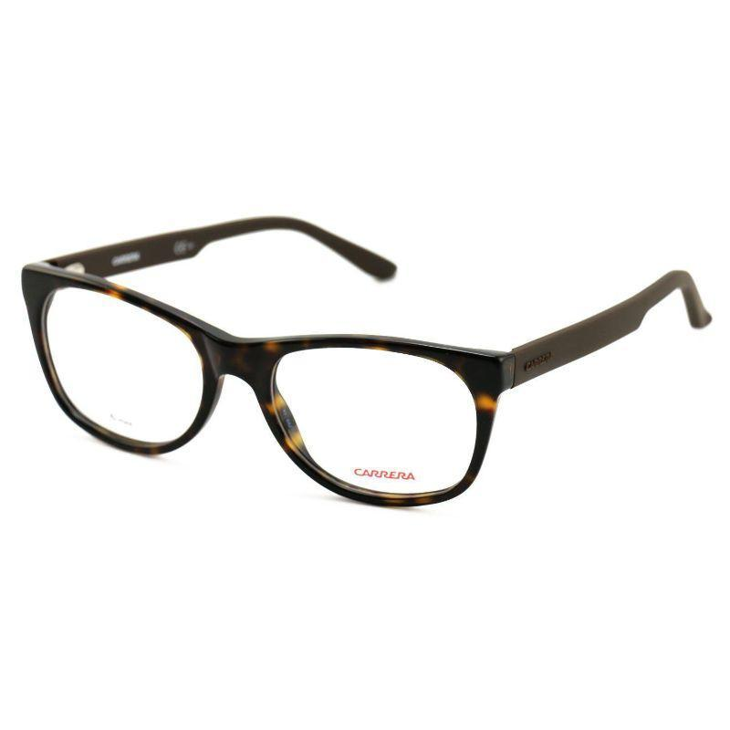 Carrera Unisex Eyeglasses CA6652 GPS Dark Havana Brown 51 18 140 Full Rim-