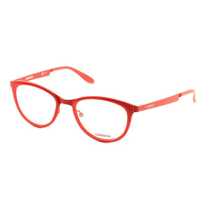 Carrera Women's Eyeglasses CA5528 8KJ Matte Coral Red 51 19 140 Full Rim-
