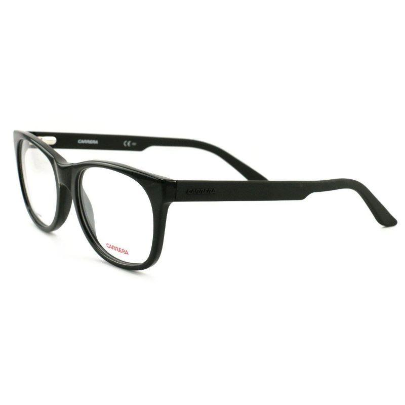 Carrera Women's Eyeglasses CA6652 KUN Black 53 18 140 Demo Lens-