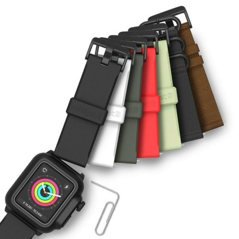 Catalyst Waterproof Case for 42mm Apple Watch Series 2 and 3 - Stealth Black-Daily Steals